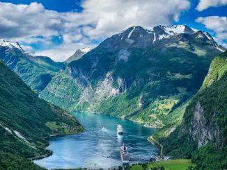 Норвегия - это земля викингов